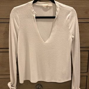 Urban Outfitters thin knitted v-neck